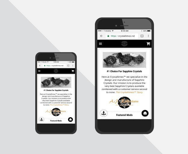 New Mobile Site Launched
