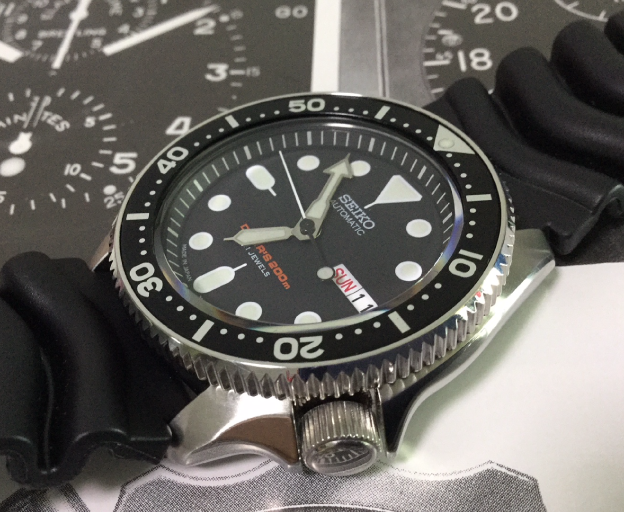 SKX007 CT202 Bezel 2018 Version