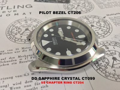 SKX007 Plus | Crystaltimes | Sapphire Crystals | Watch Parts